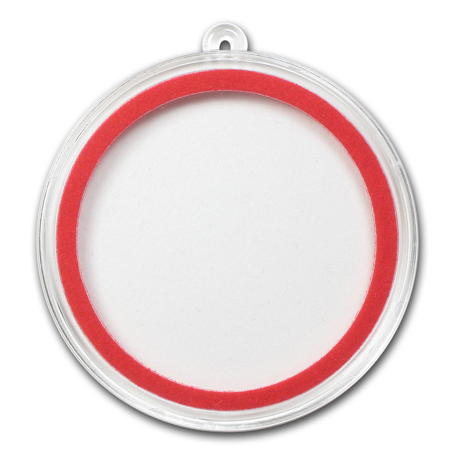Ornament Capsule (40mm) - Red Ring