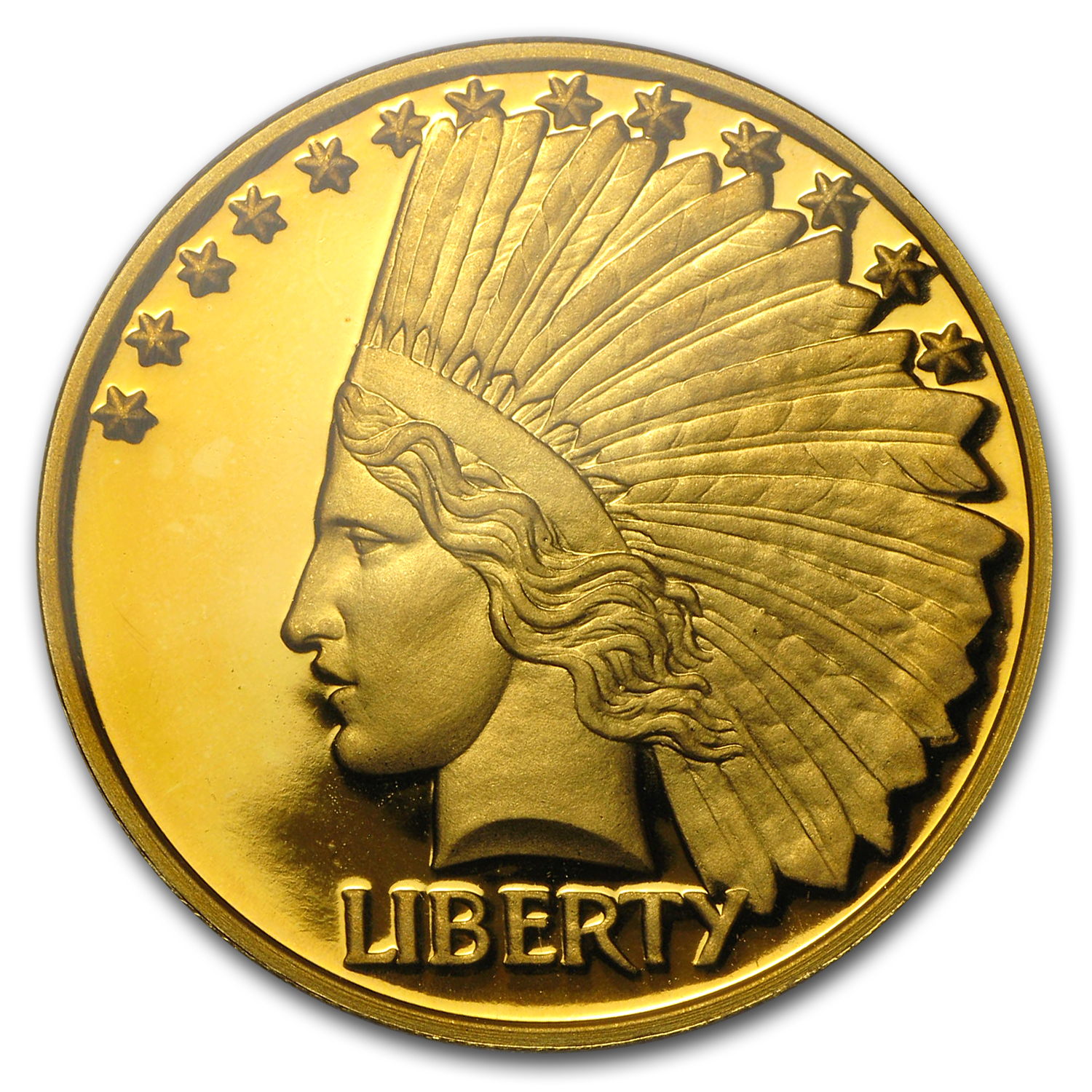 2000 Liberia 1 oz Proof Gold 100 Dollars PF-68 PCGS (Type-1)