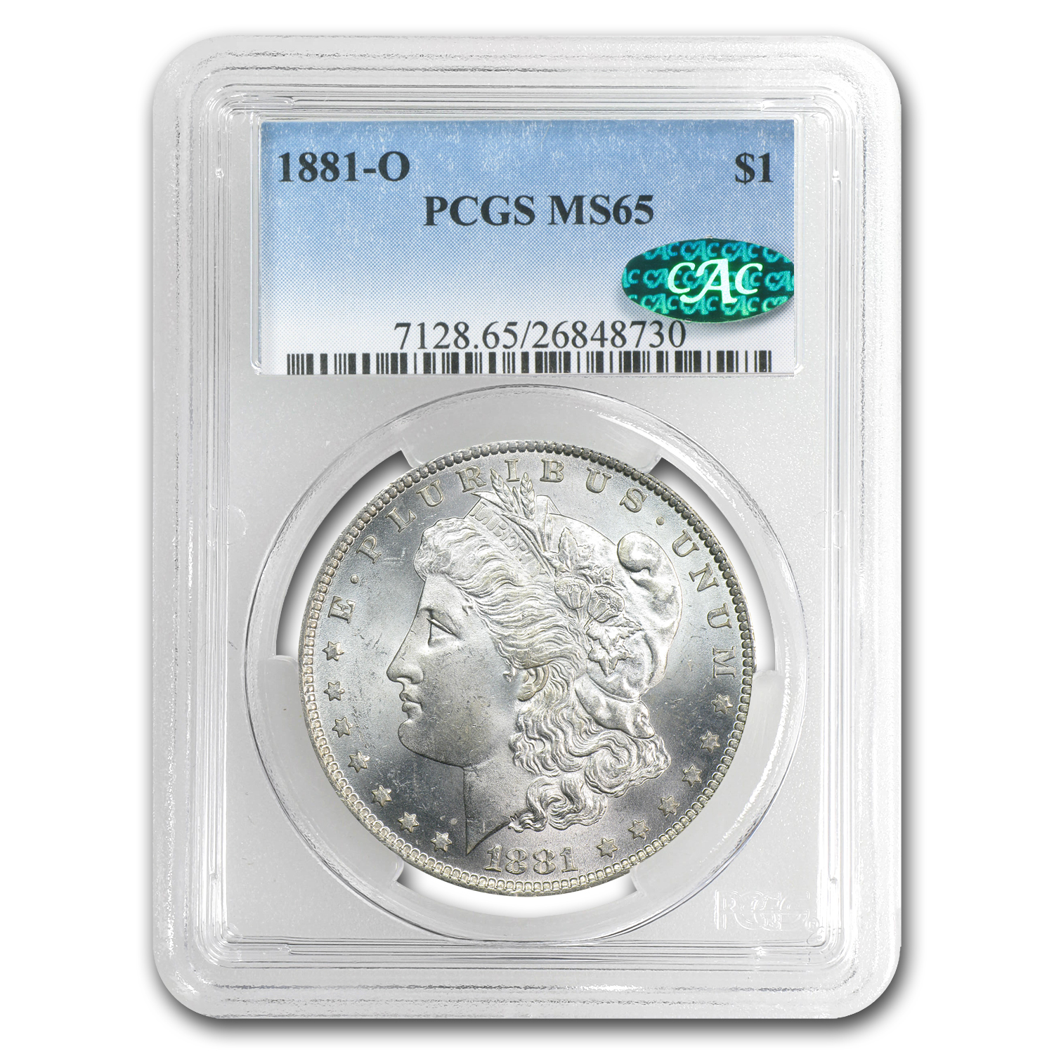 1881-O Morgan Dollar MS-65 PCGS (CAC)