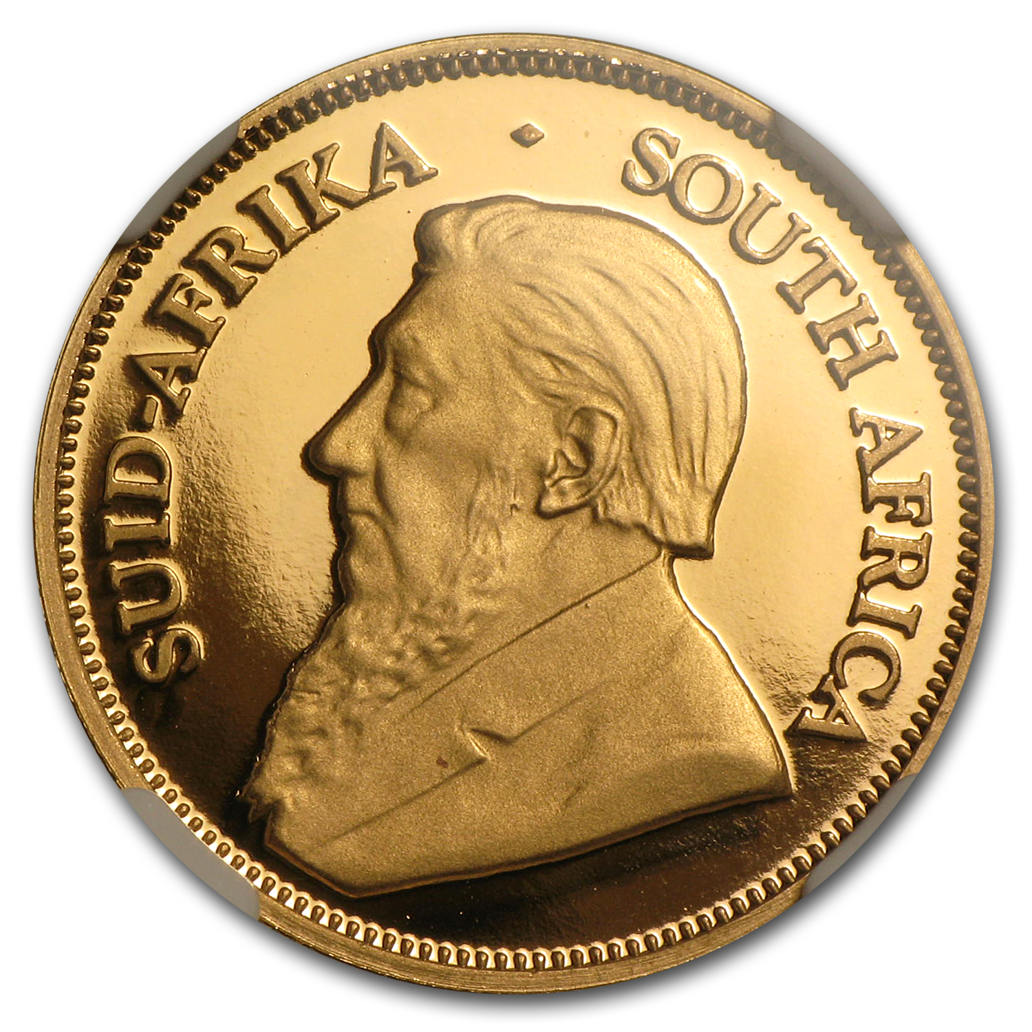 2002 1/4 oz Gold South African Krugerrand PF-69 NGC