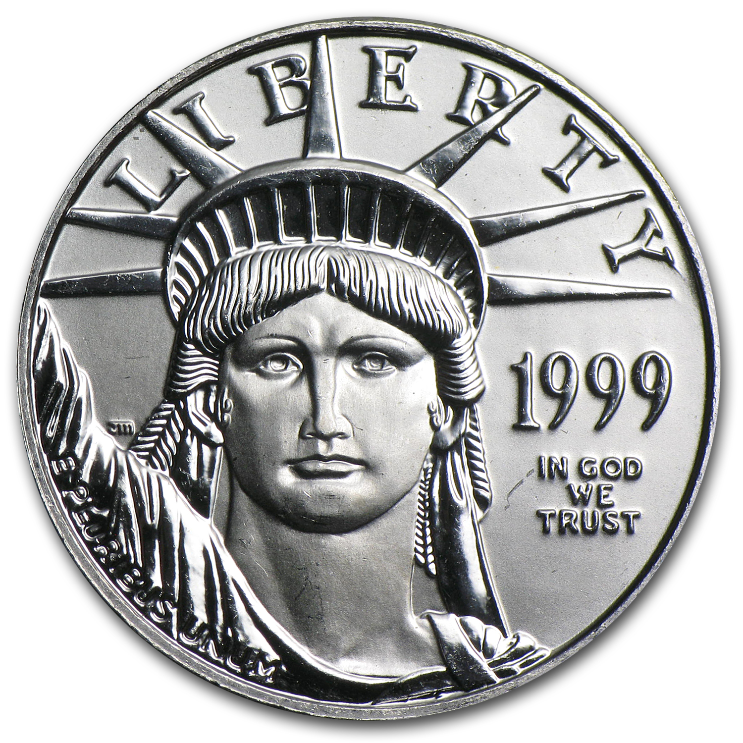 1999 1/4 oz Platinum American Eagle BU
