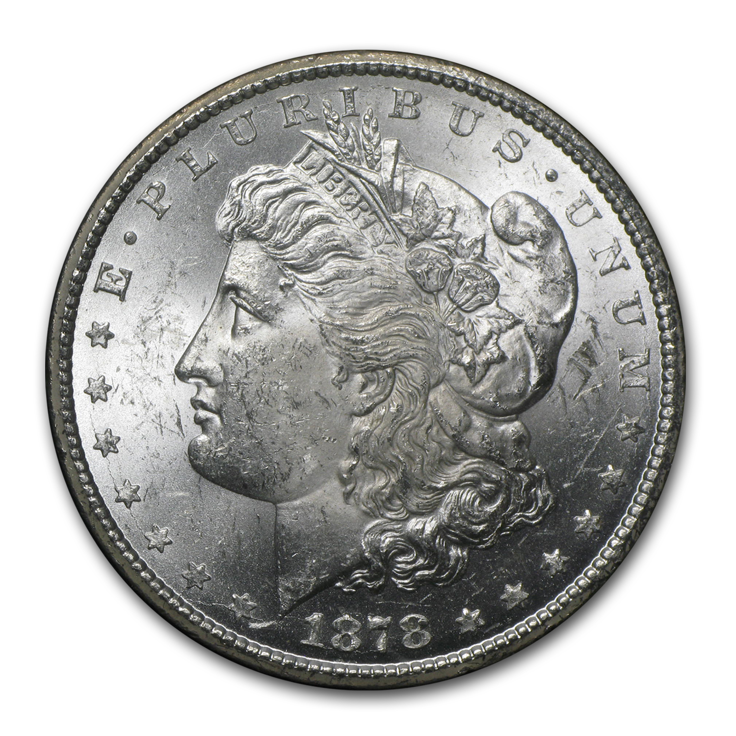 1878-CC Morgan Dollar BU (GSA Holder)
