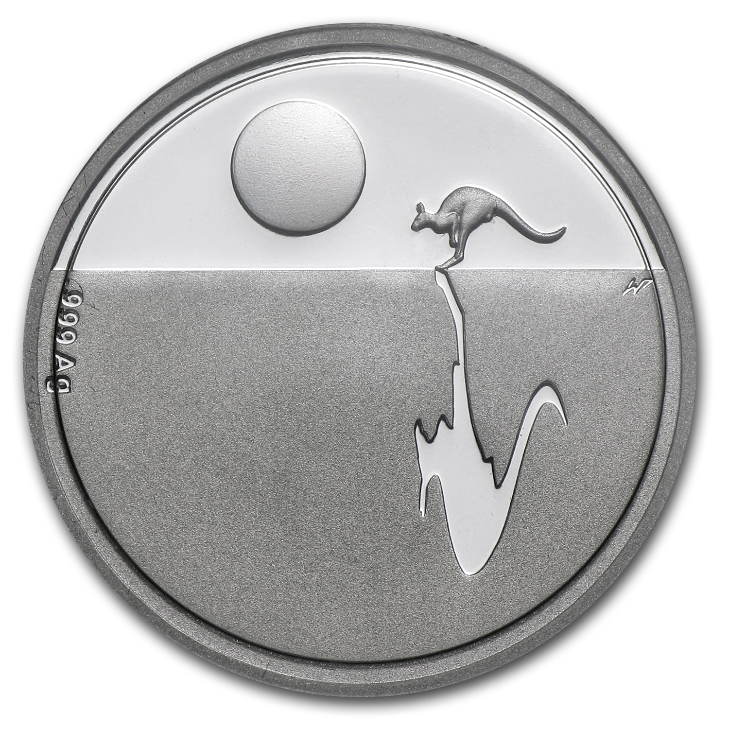 2011 Australia Silver $1 Kangaroo at Sunset