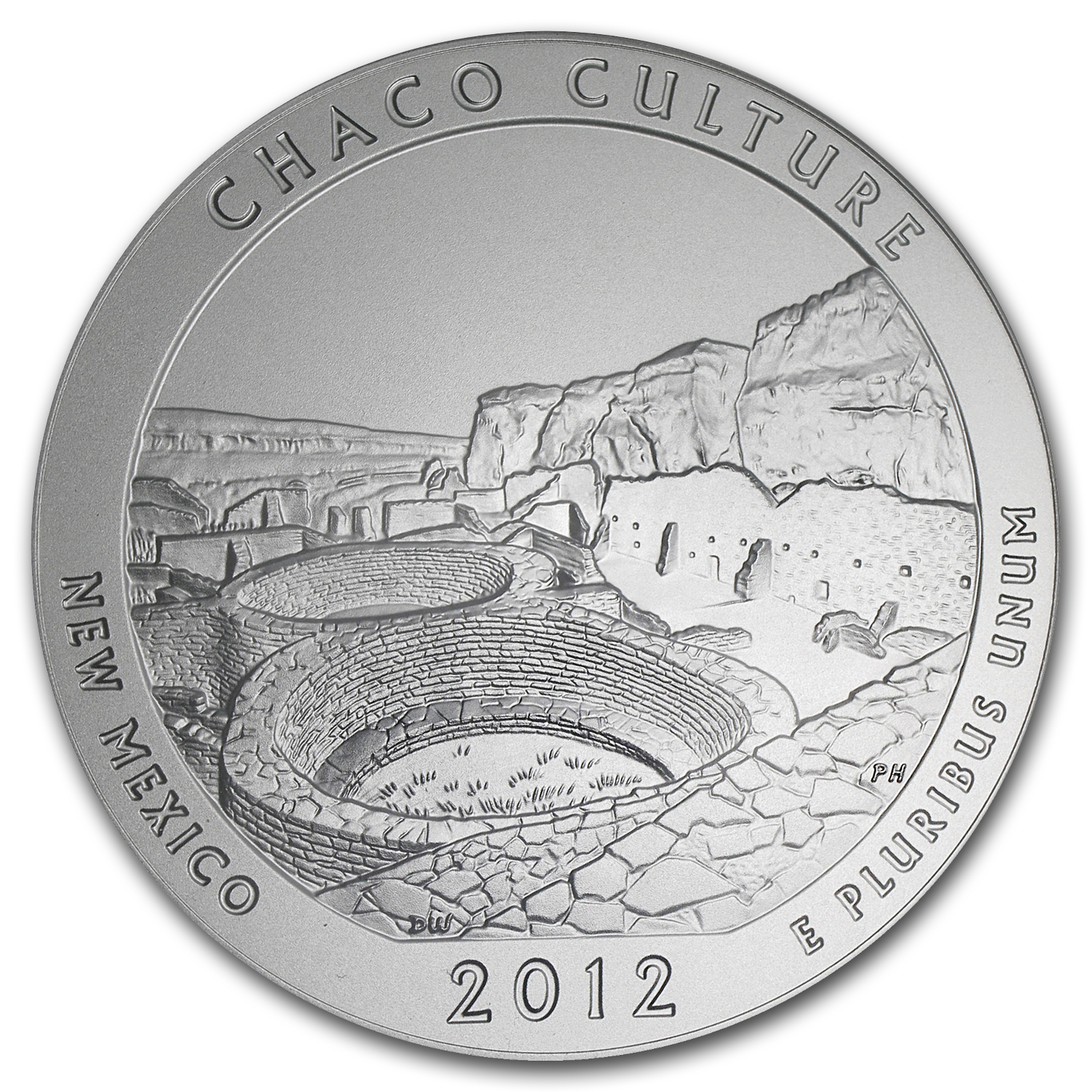 2012-P 5 oz Silver ATB Chaco Culture SP-70 PCGS (Roosevelt)