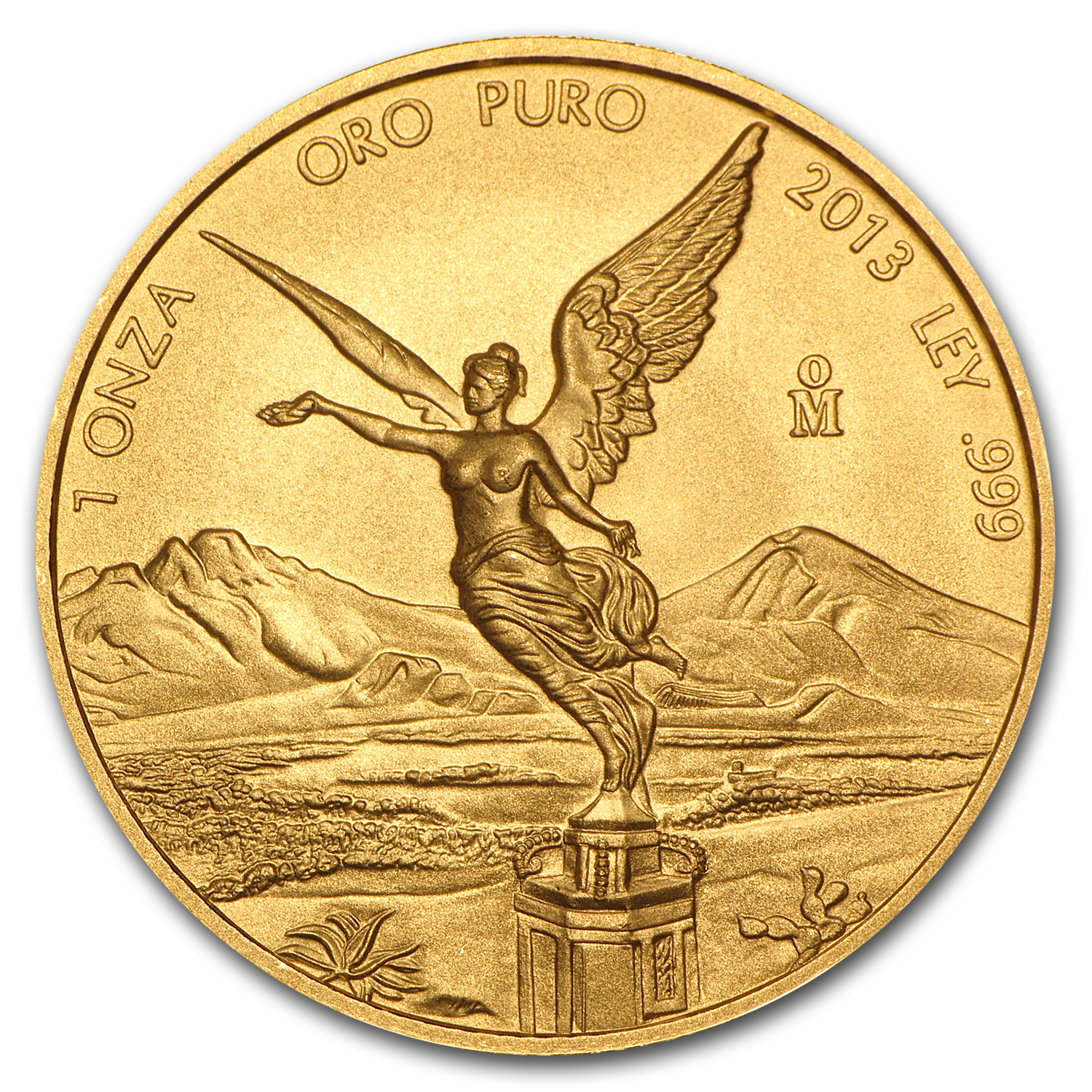 2013 Mexico 1 oz Gold Libertad BU