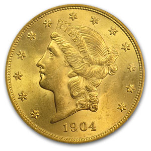 $20 Liberty Gold Double Eagle MS-65 PCGS/NGC (CAC, Random)