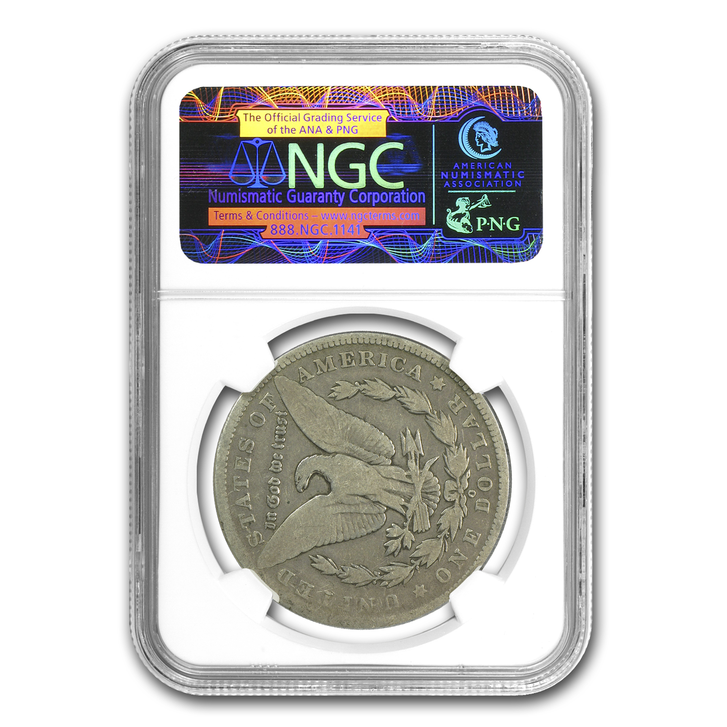 1889-O Morgan Dollar Good-6 NGC (90 Degree CW Rotated Rev)