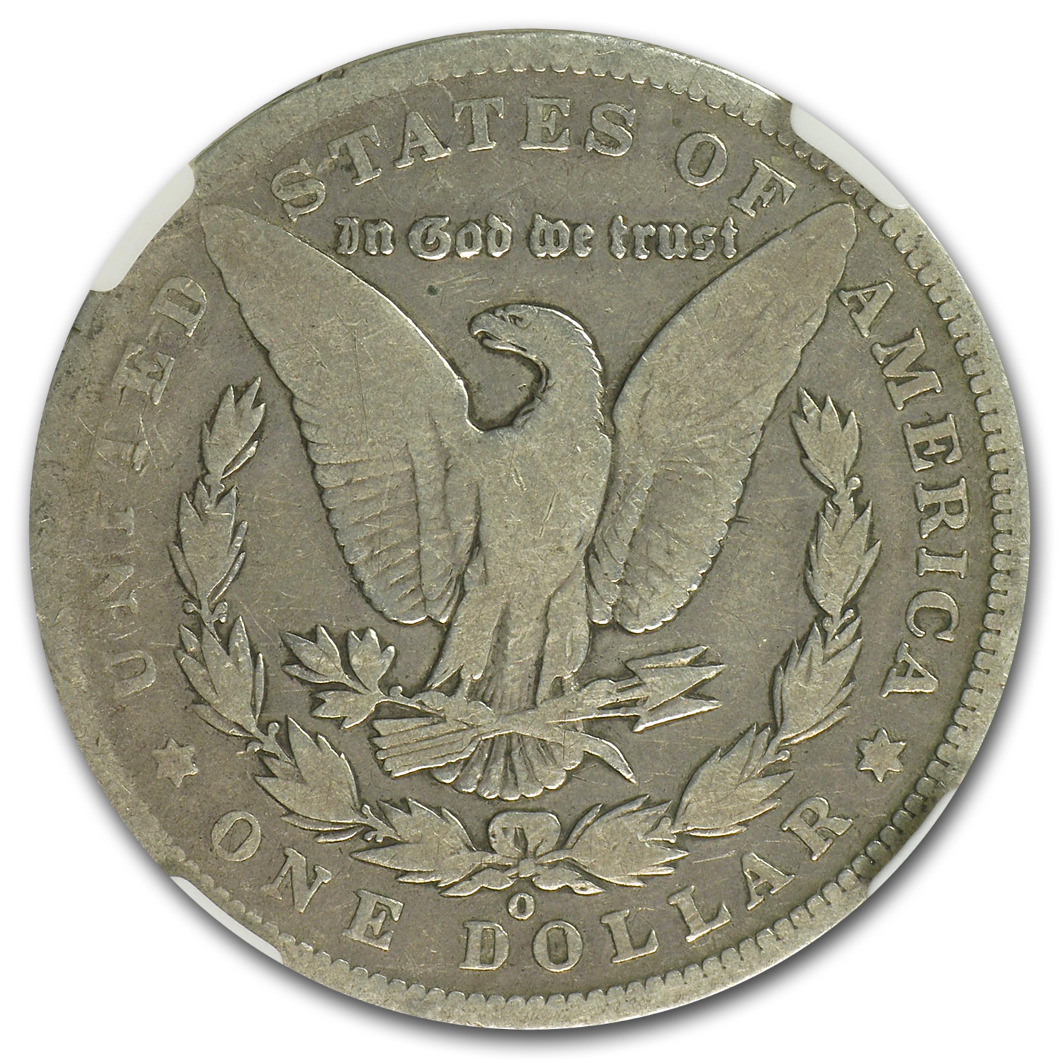 1889-O Good-6 NGC (90 Degree CW Rotated Rev)