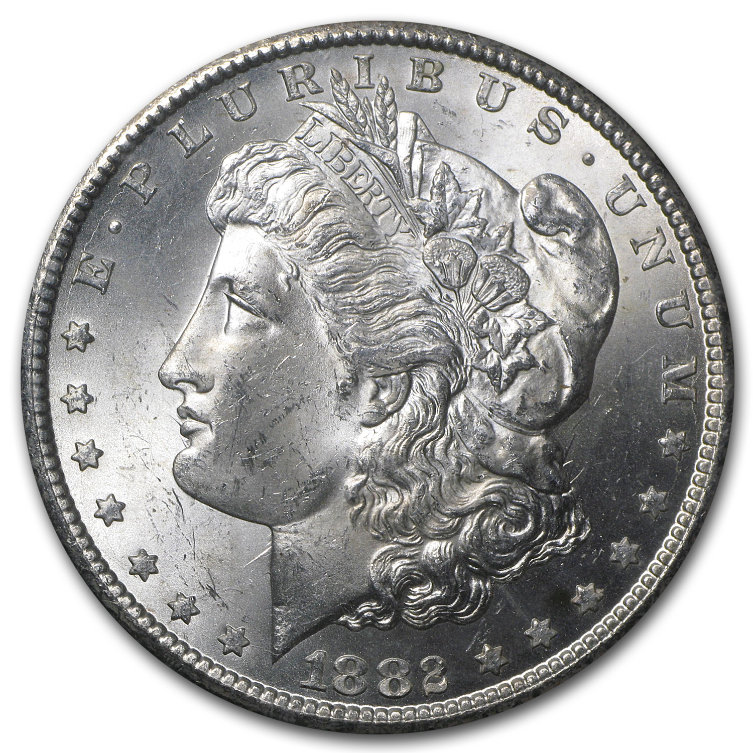 1882-CC Morgan Dollar MS-63 NGC (GSA)