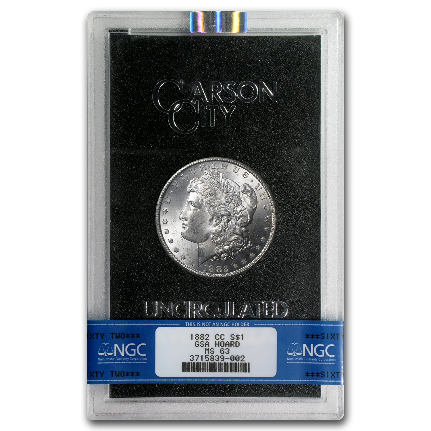 1882-CC Morgan Dollar MS-63 NGC (GSA Certified)