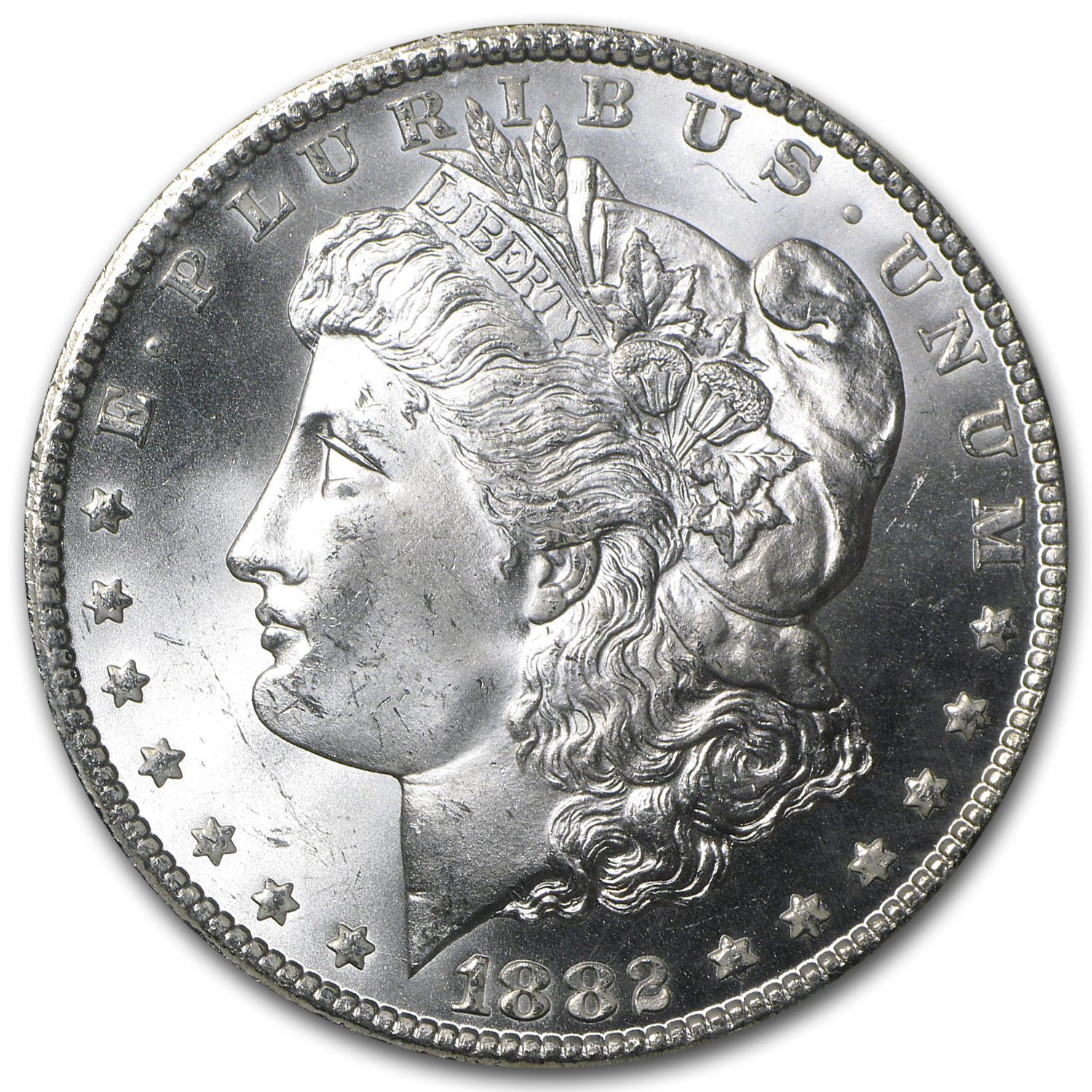1882-CC Morgan Dollar MS-65 NGC (GSA)