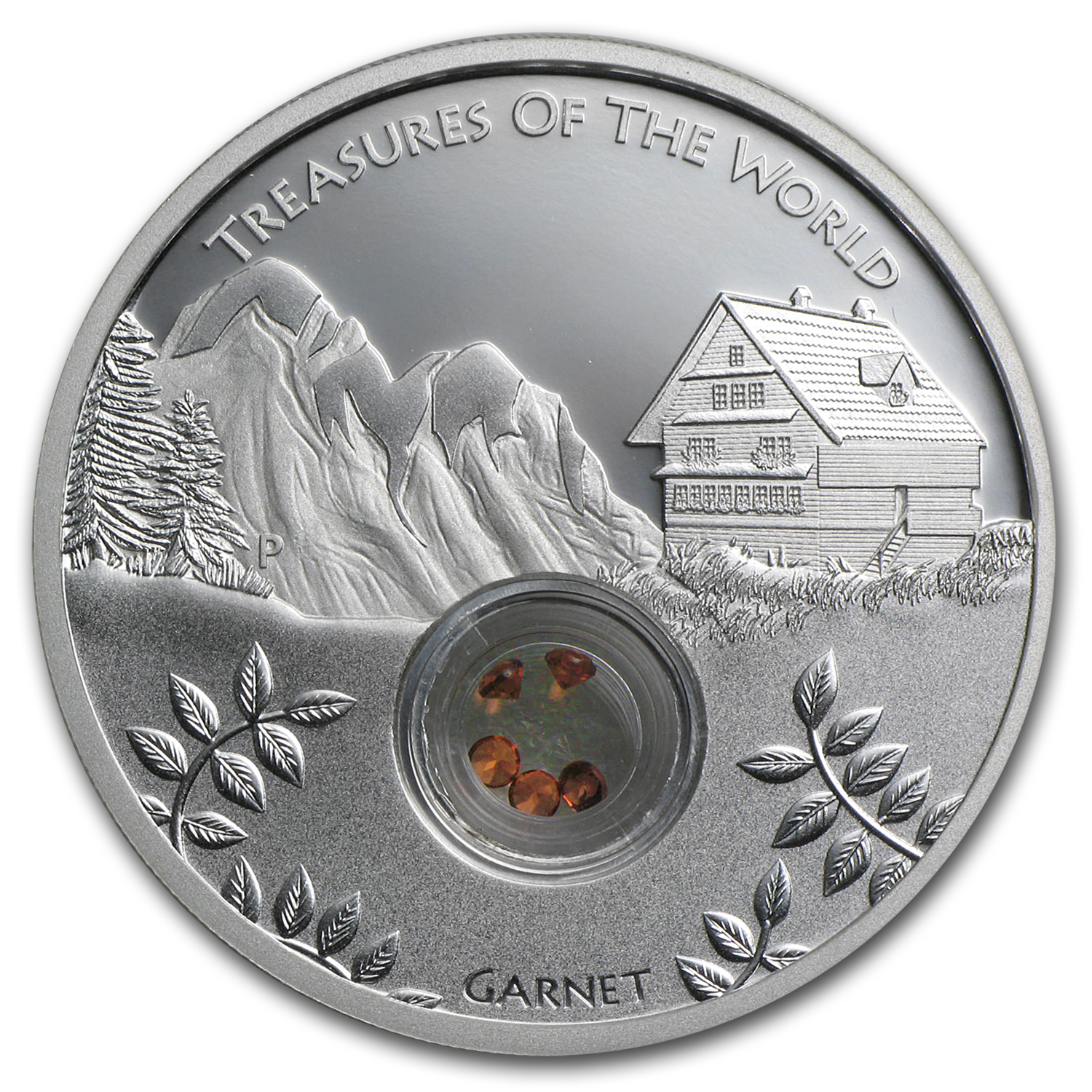 2013 1 oz Silver Treasures of the World Locket Proof (Europe)