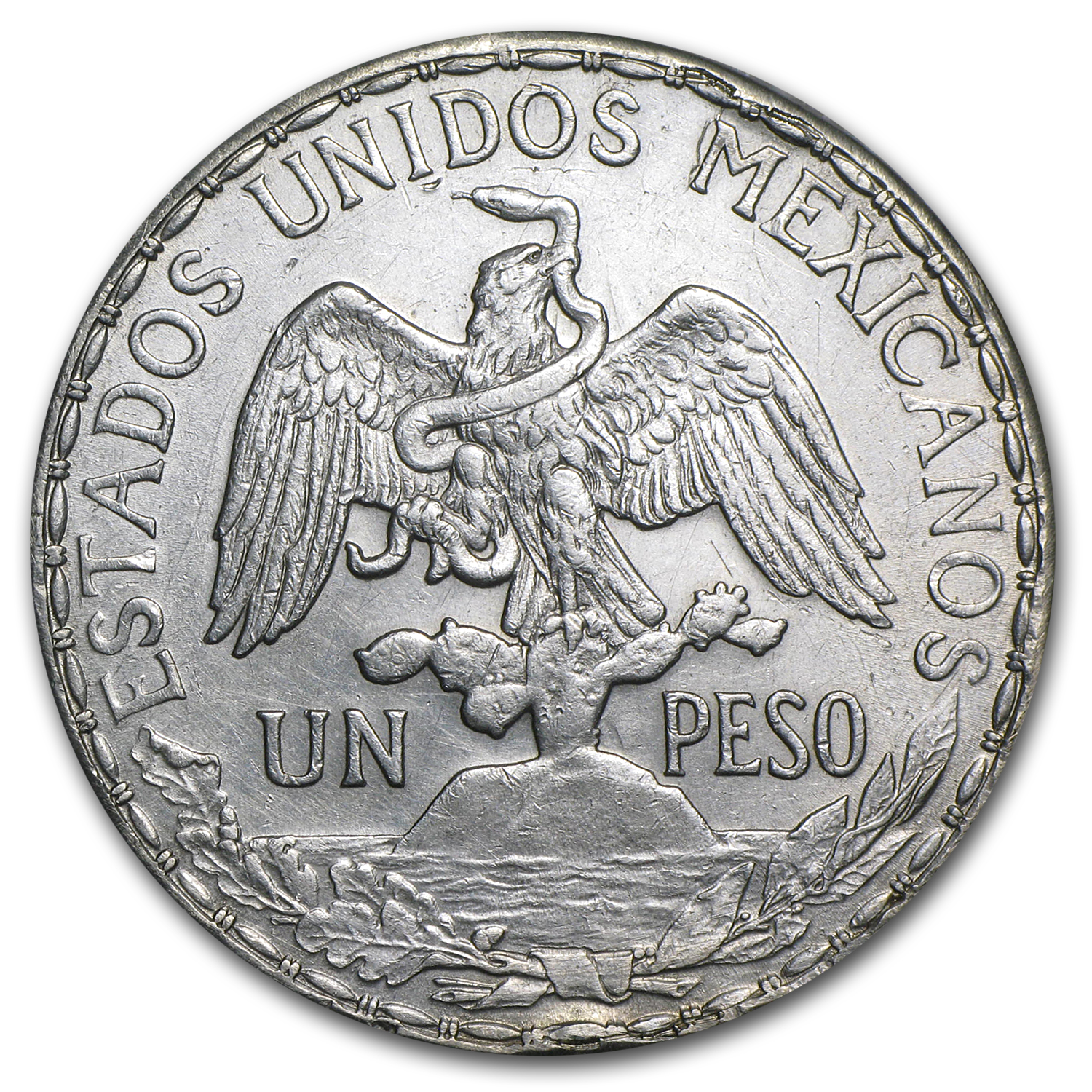 Mexico 1912 Peso Silver Caballito (XF or Better)