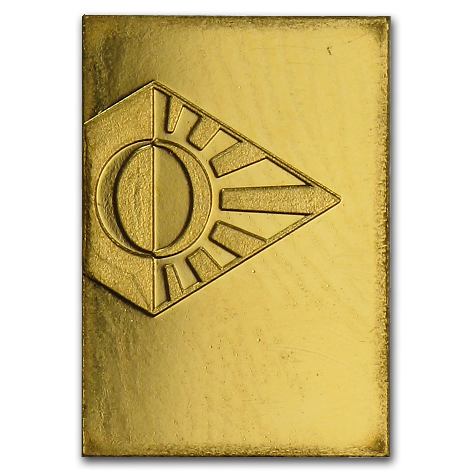 1 gram Gold Bar - Degussa (No Assay)