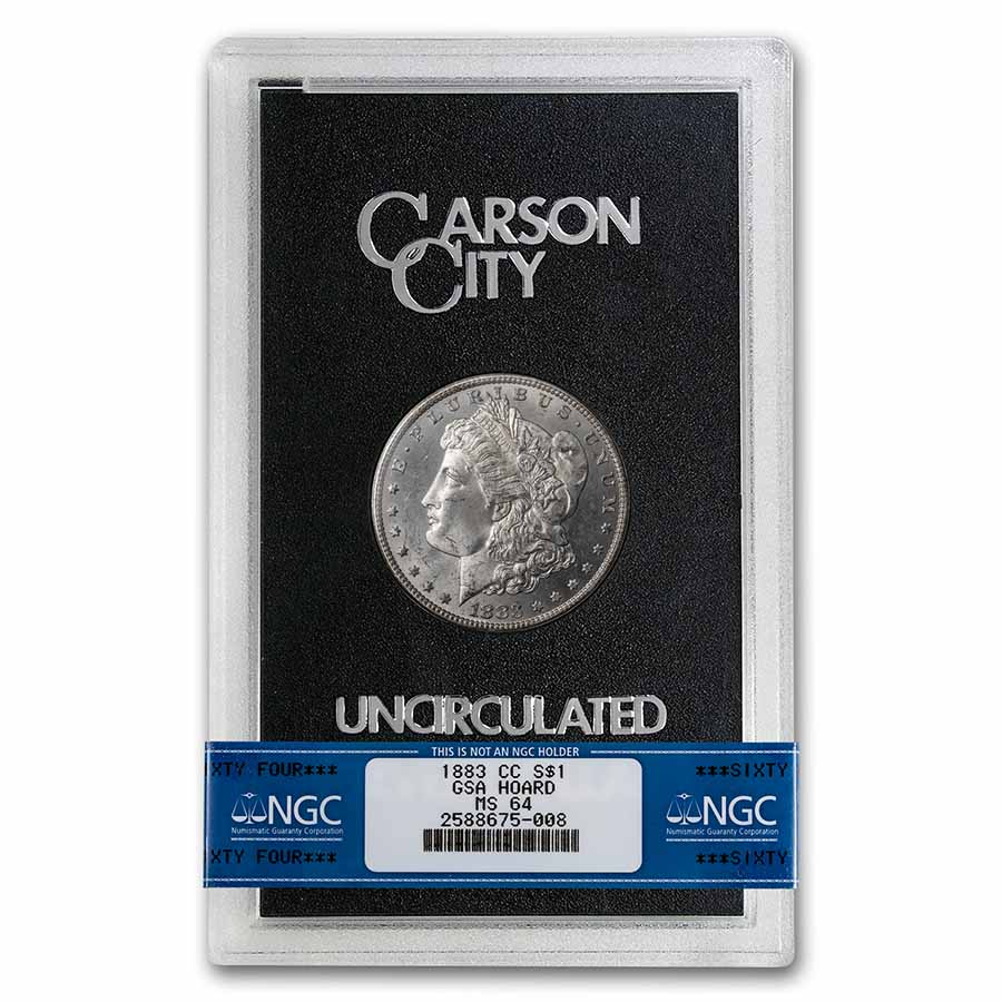 1883-CC Morgan Dollar MS-64 NGC (GSA Certified)