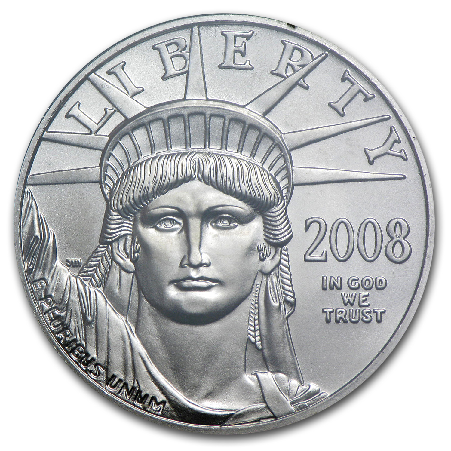 1997-2008 12-Coin 1/2 oz Platinum Eagle Set BU (Dansco Album)