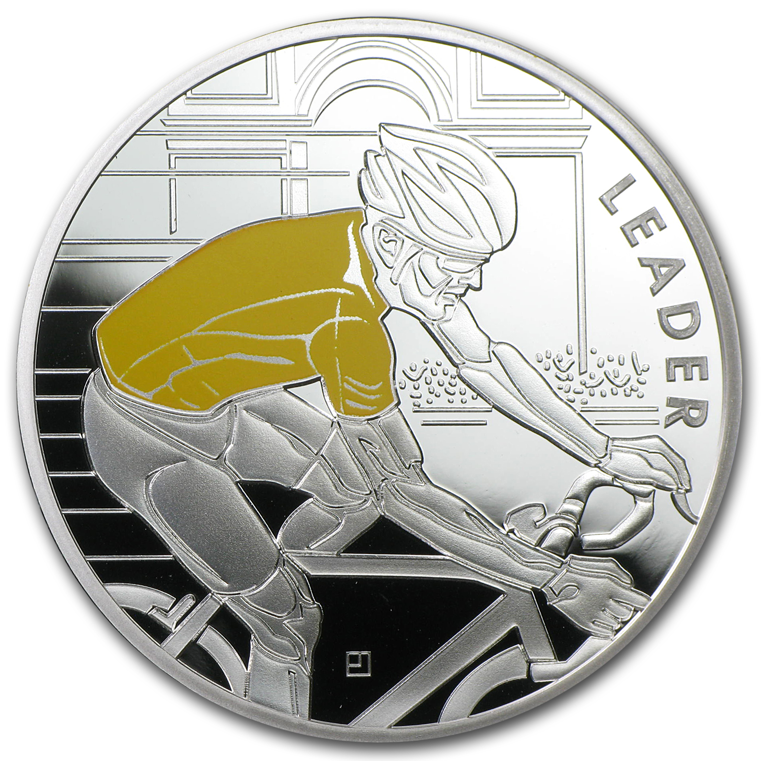 2013 4-Coin Silver €10 100th Edition Tour de France Proof Set