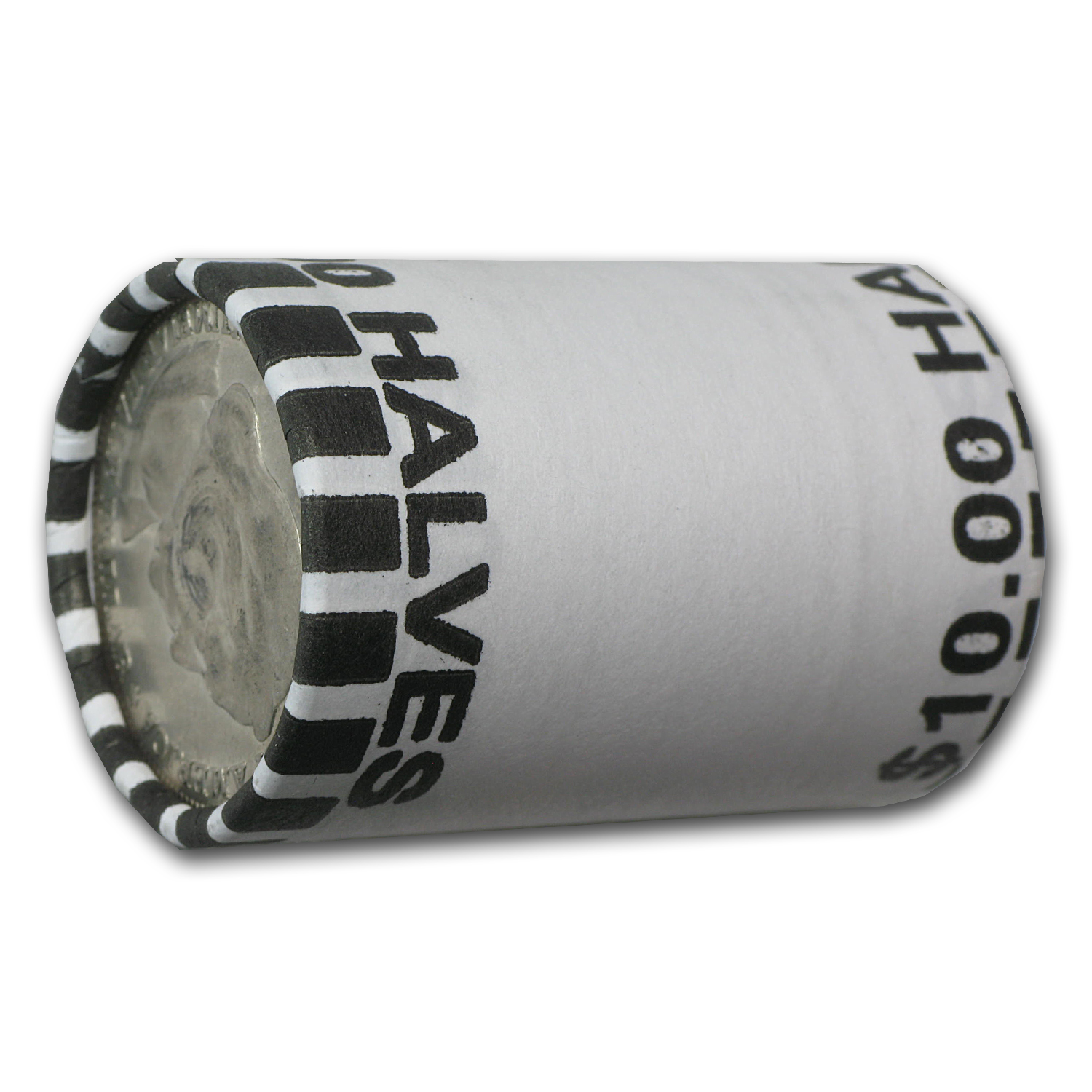 Columbian Expo 20-Coin 90% Silver Half Roll (Cleaned)