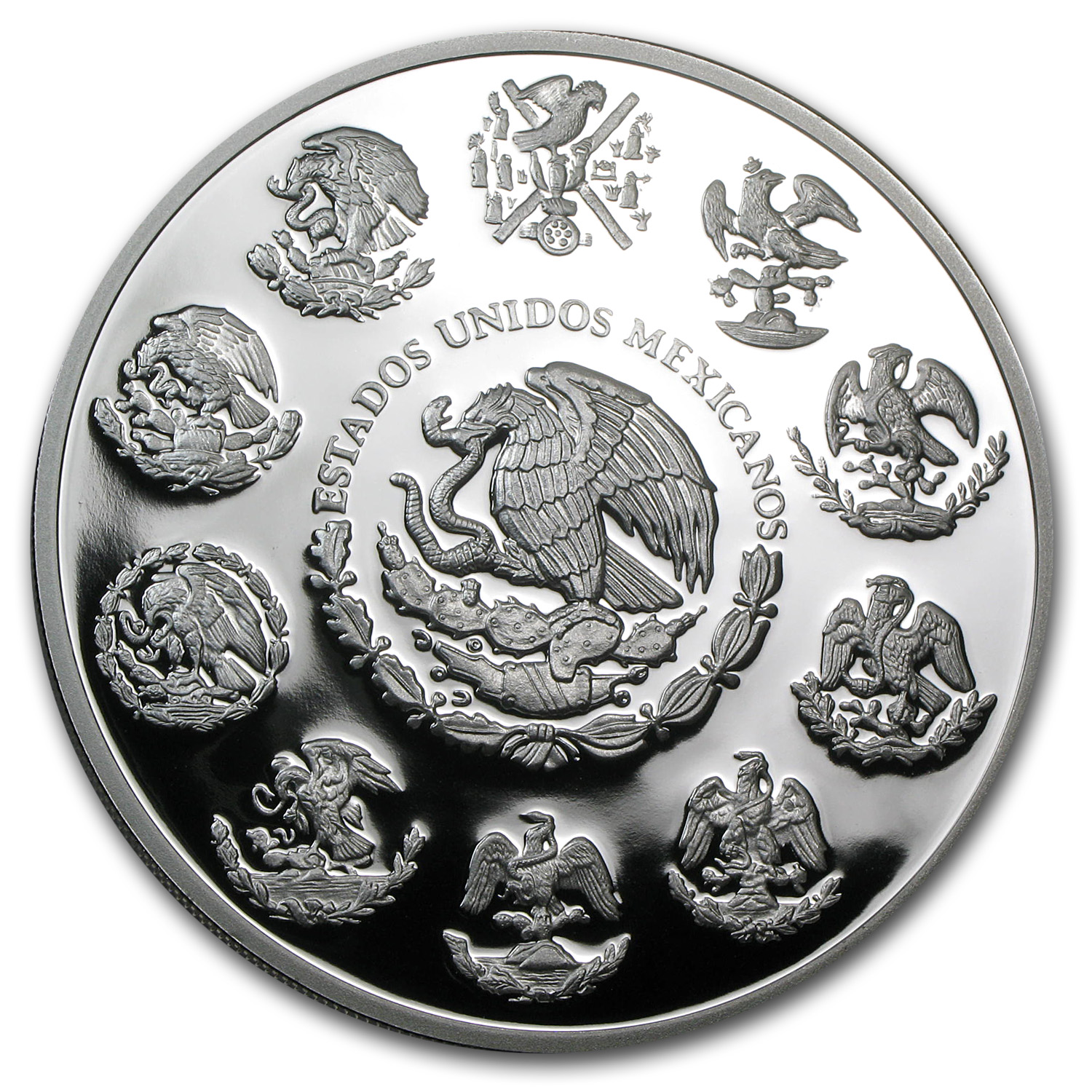 2013 5 oz Silver Mexican Libertad - Proof (In Capsule)
