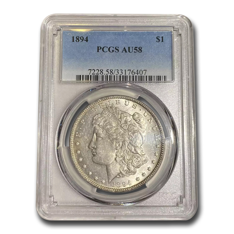 1894 Morgan Dollar AU-58 PCGS (Key Date)