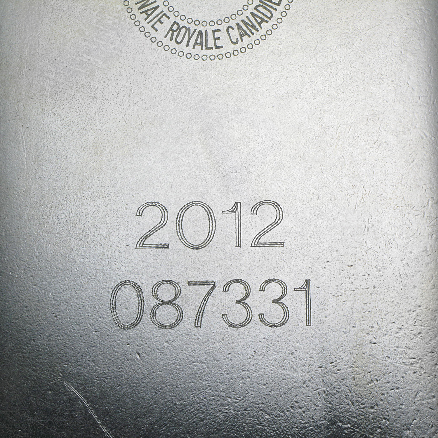 100 oz Silver Bar - RCM (2012/.9999 Fine)