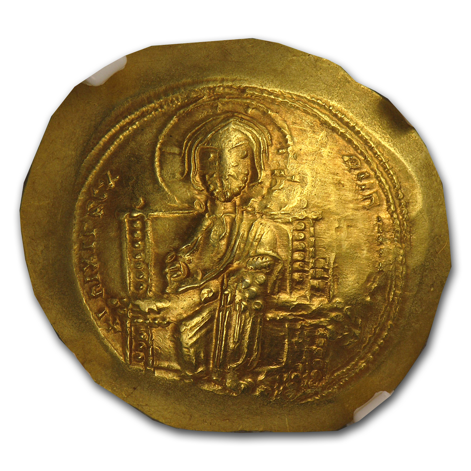 Byzantine Gold Histamenon of Constantine X (1059-1067AD) NGC MS