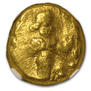 Persian Gold Daric VF NGC (5th Century BC)