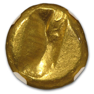 Persian Gold Daric 5th Century BC NGC-VF