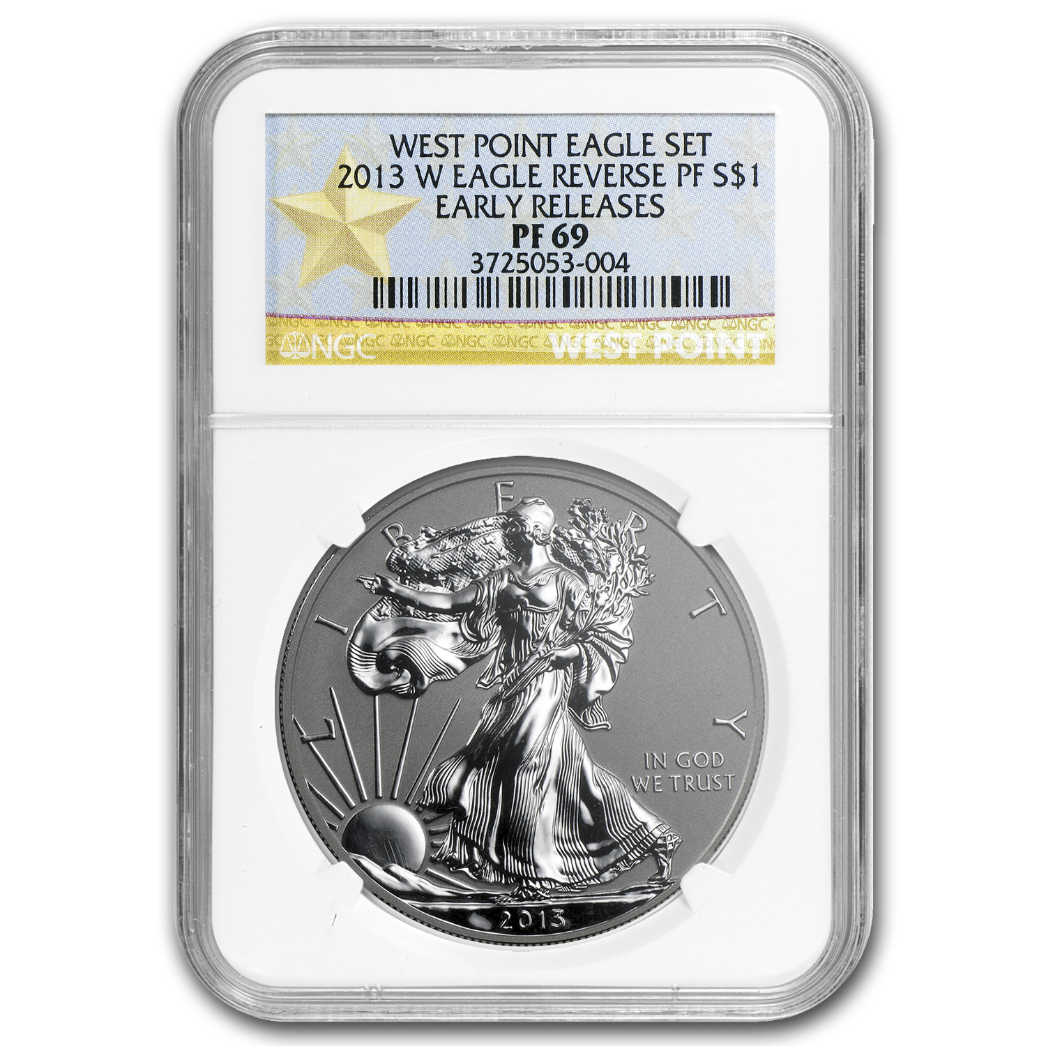2013-W Reverse Proof Silver Eagle PF-69 NGC (Early Releases)