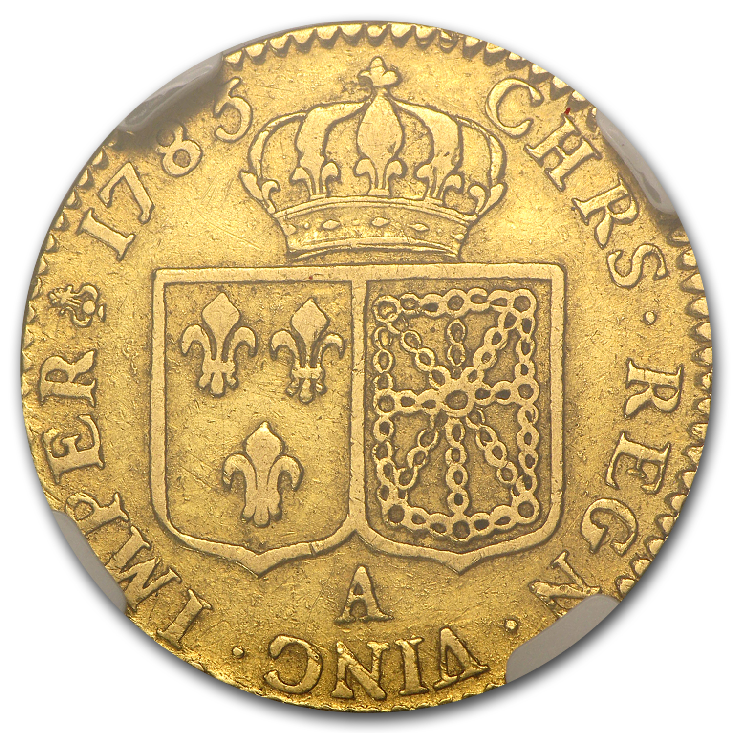 France 1785-A Louis D'or Gold NGC VF-35