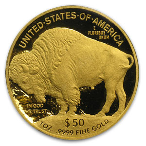 2011-W 1 oz Proof Gold Buffalo PR-70 PCGS FS (Black Diamond)