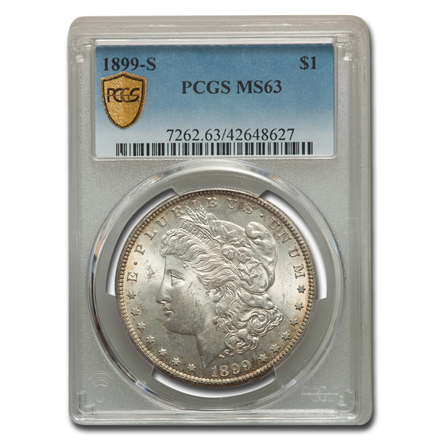 1899-S Morgan Dollar MS-63 PCGS