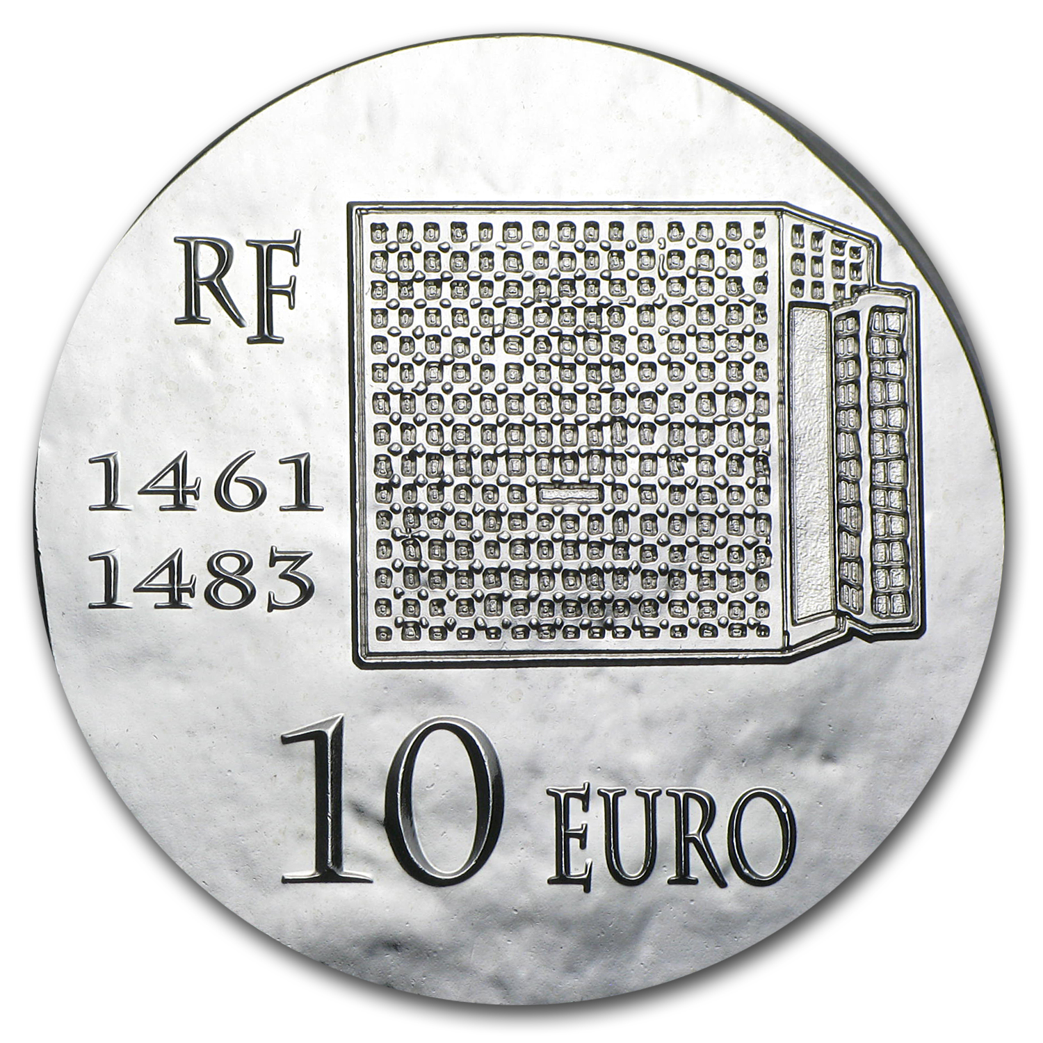2013 France Silver €10 Legendary Collection Proof (Louis XI)