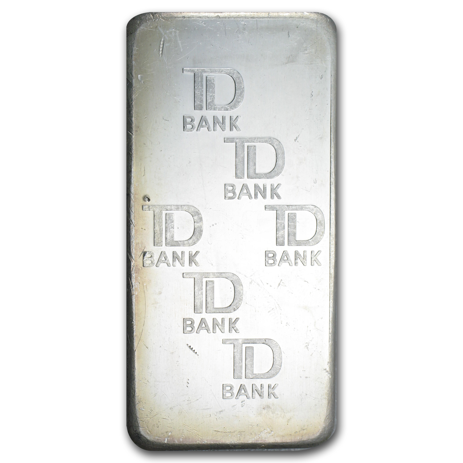 10 oz Silver Bars - Johnson Matthey (Made for TD Bank)