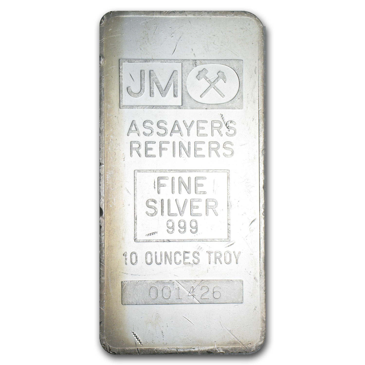 10 oz Silver Bar - Johnson Matthey (Made for TD Bank)
