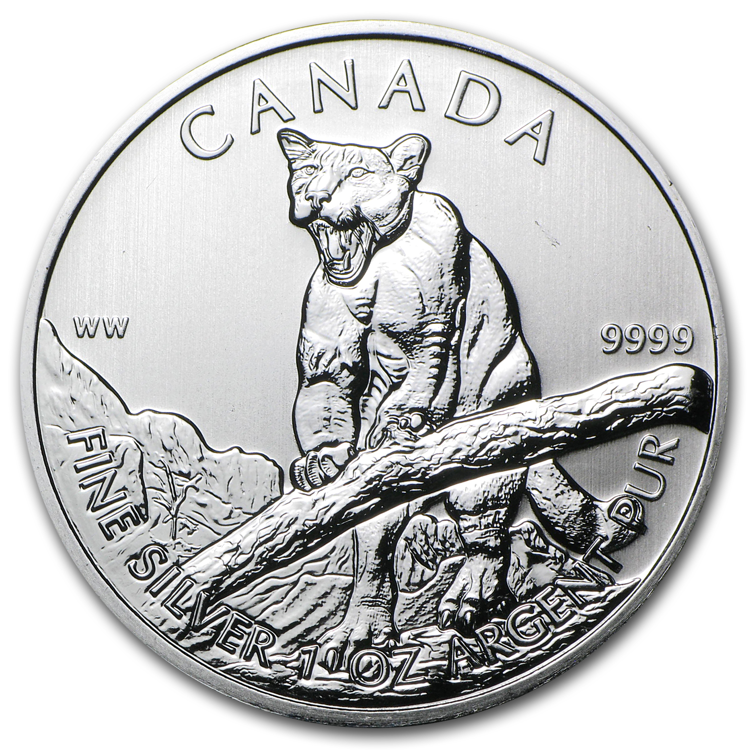 2011-2013 Canadian 1oz Silver Wildlife Series-Complete 6 Coin Set