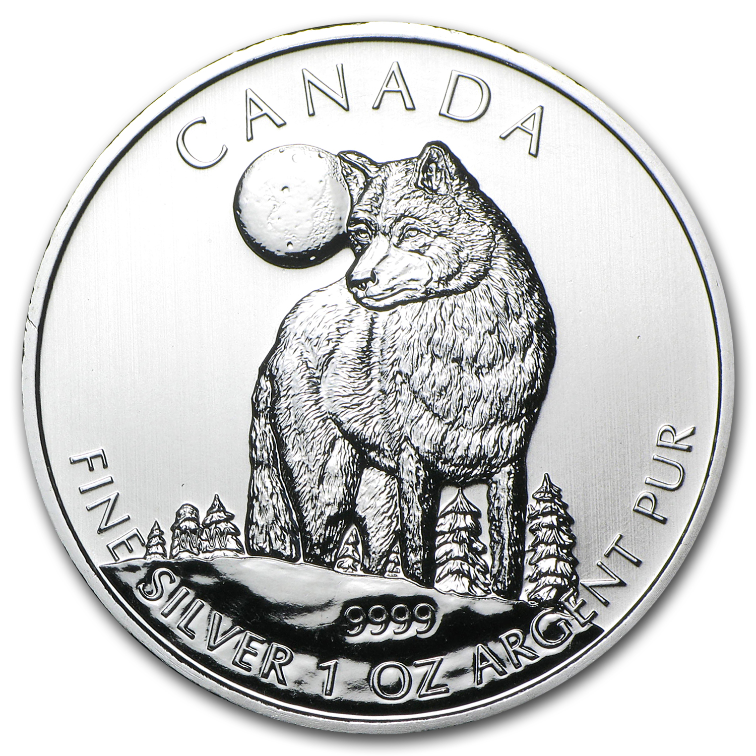 2011-2013 Canada 6-Coin 1 oz Silver Wildlife Series Set BU