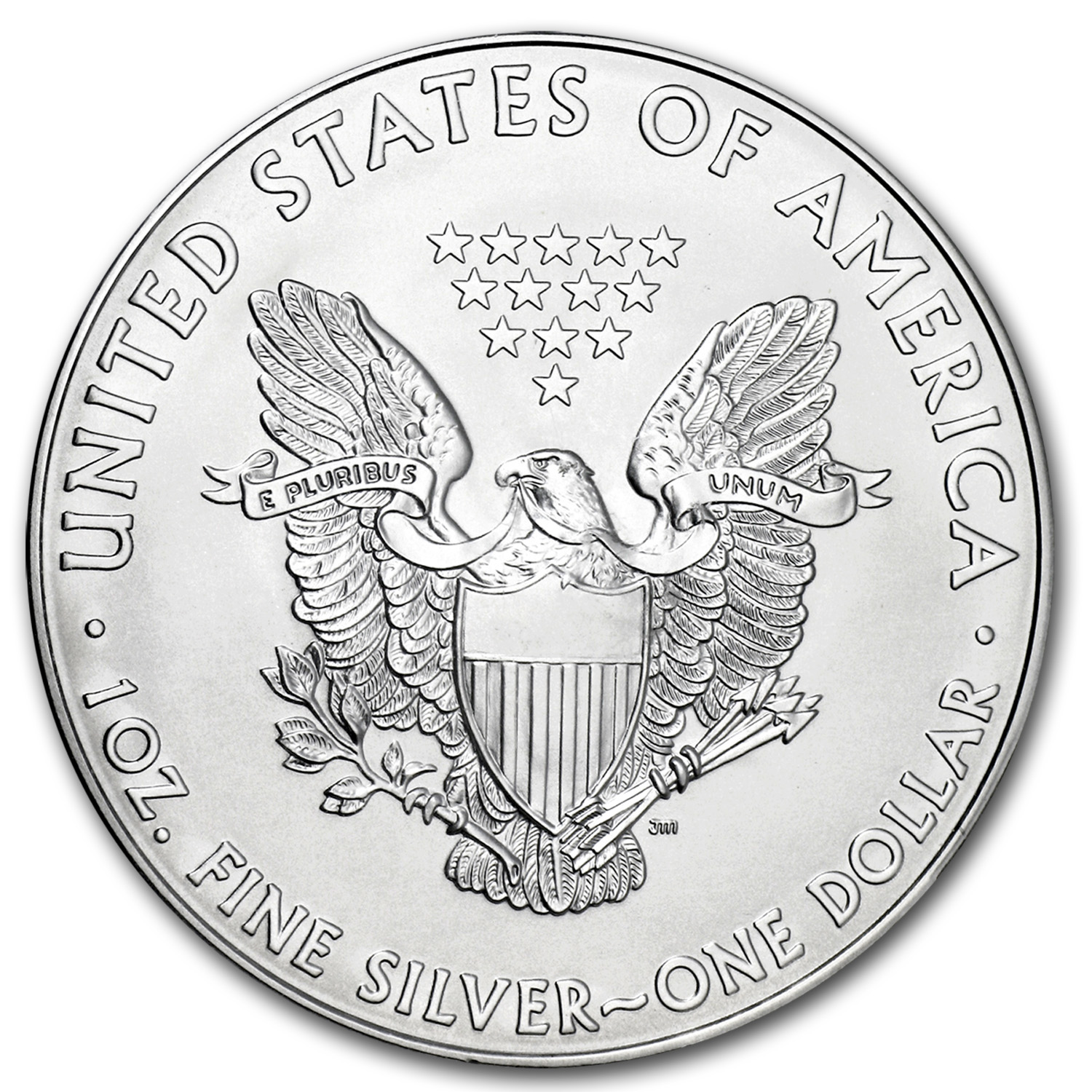 2014 1 oz Silver American Eagle BU (w/U.S. Mint Box)