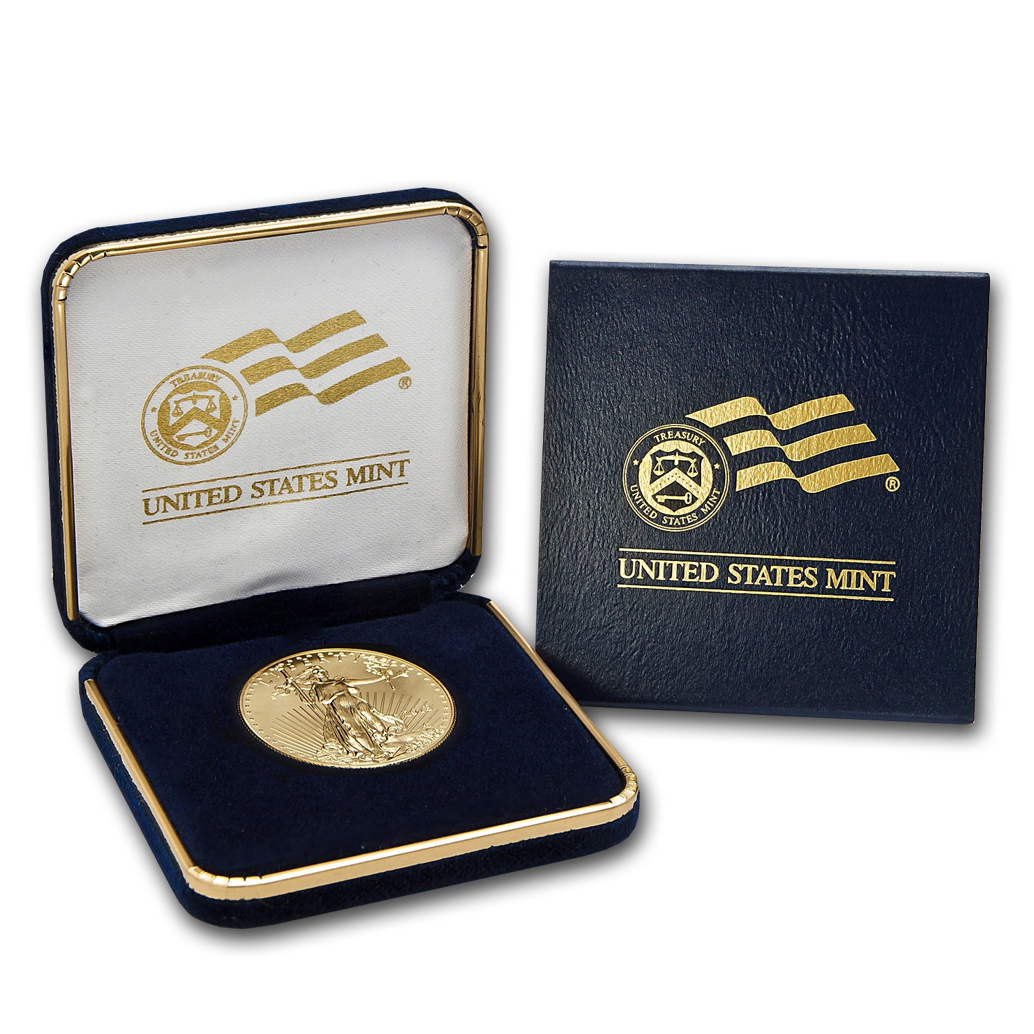 2014 1 oz Gold American Eagle BU (w/U.S. Mint Box)