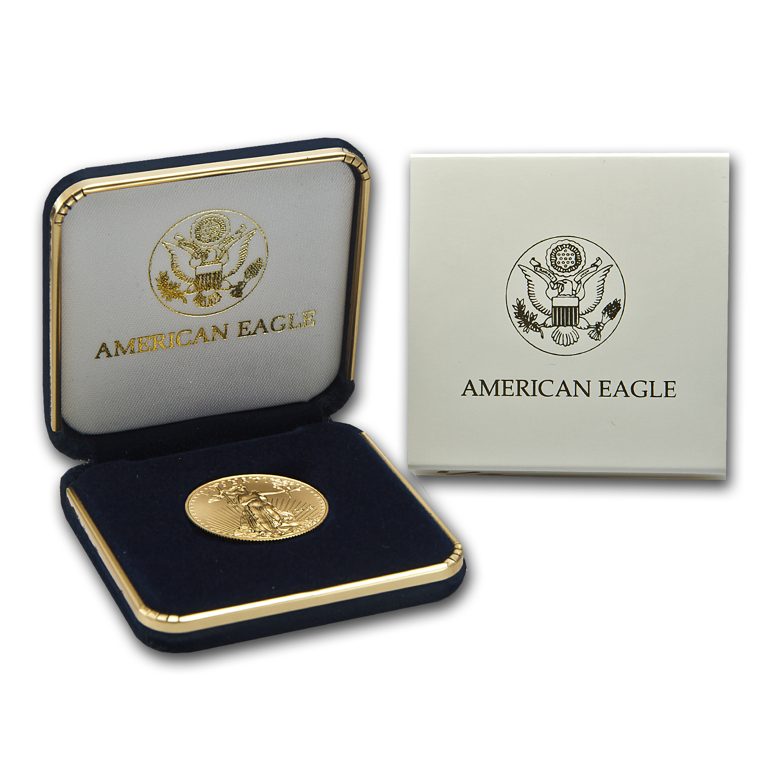 2014 1/2 oz Gold American Eagle BU (w/U.S. Mint Box)