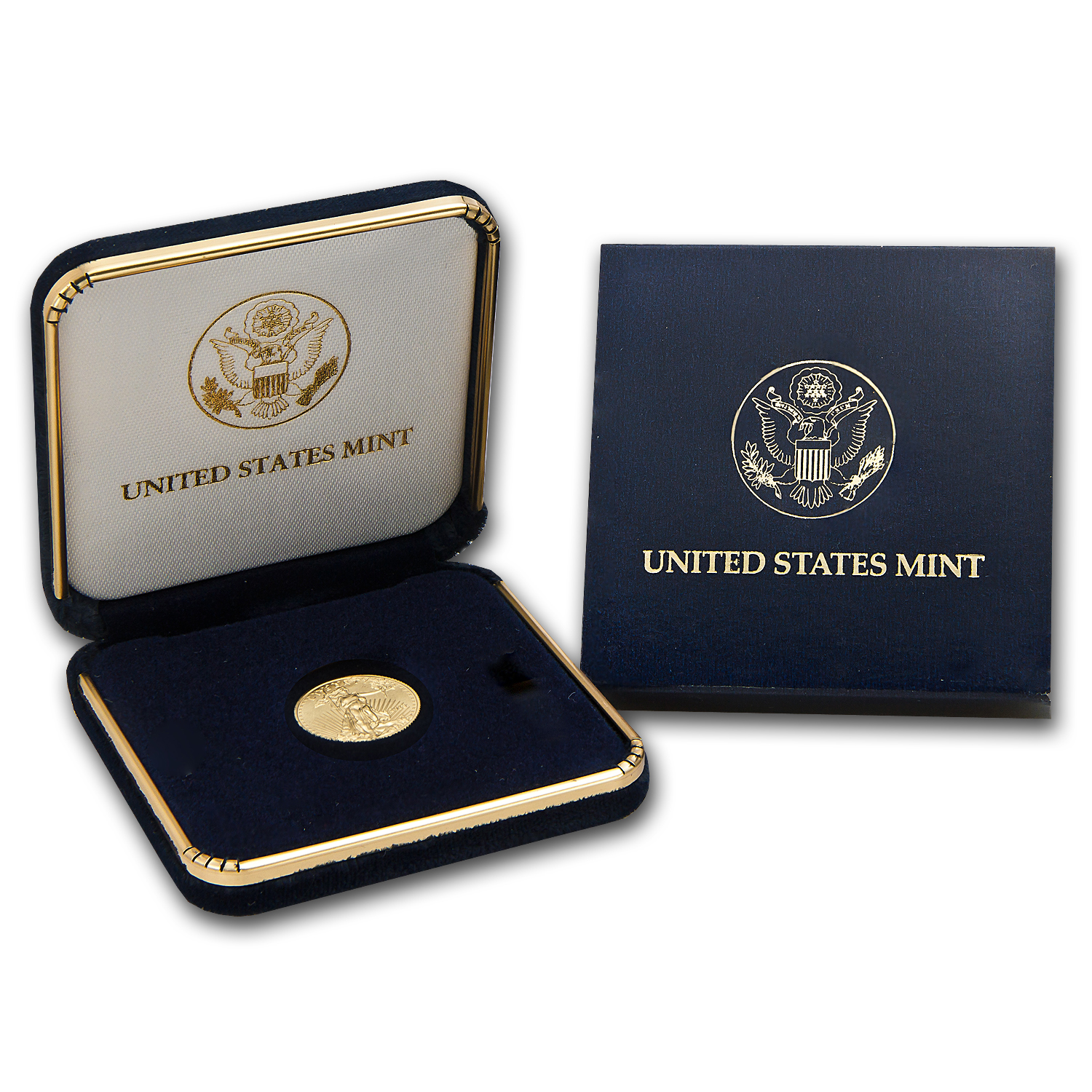2014 1/10 oz Gold American Eagle BU (w/U.S. Mint Box)