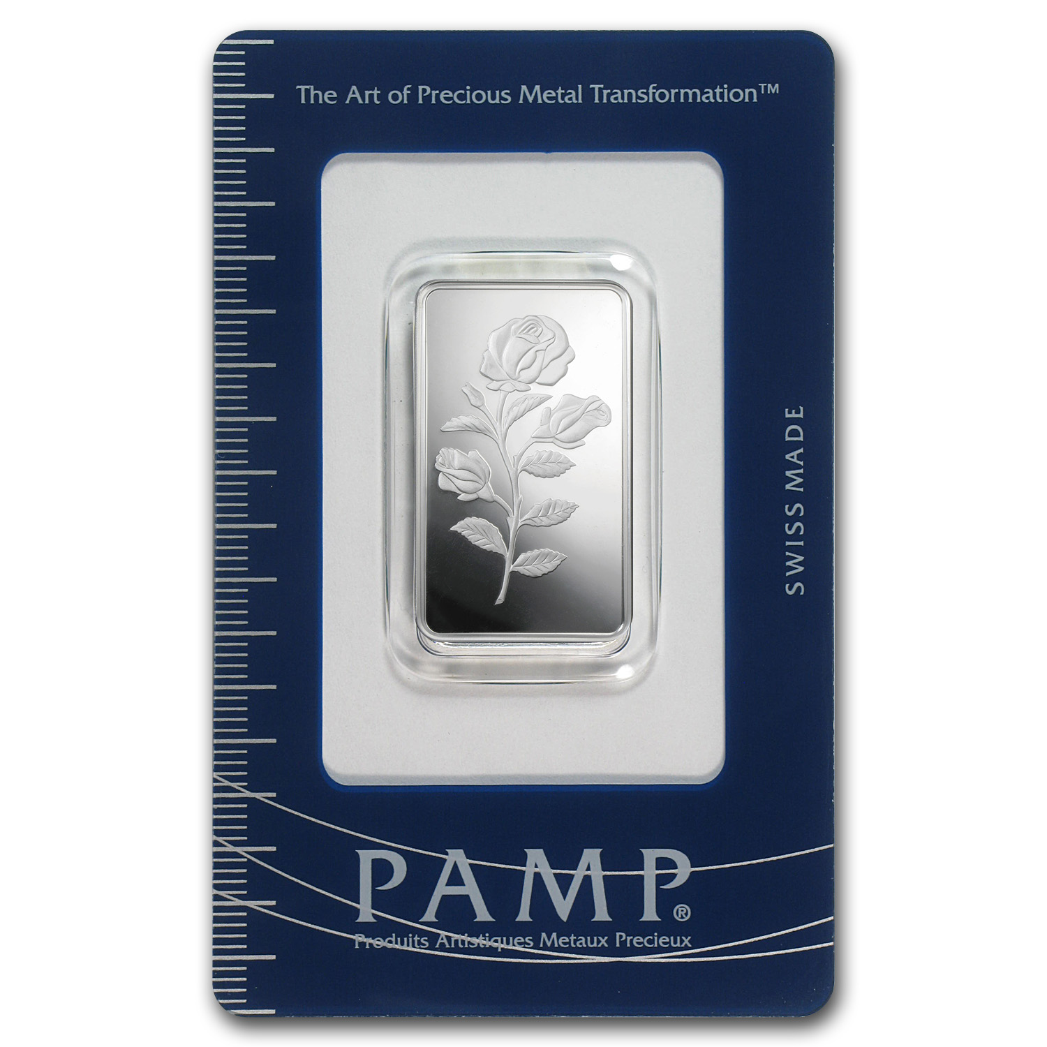 1/2 oz Silver Bar - PAMP Suisse (Rosa)