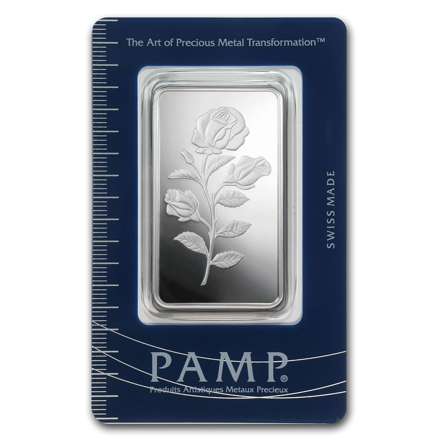 1 oz Silver Bar - Pamp Suisse (Rosa)