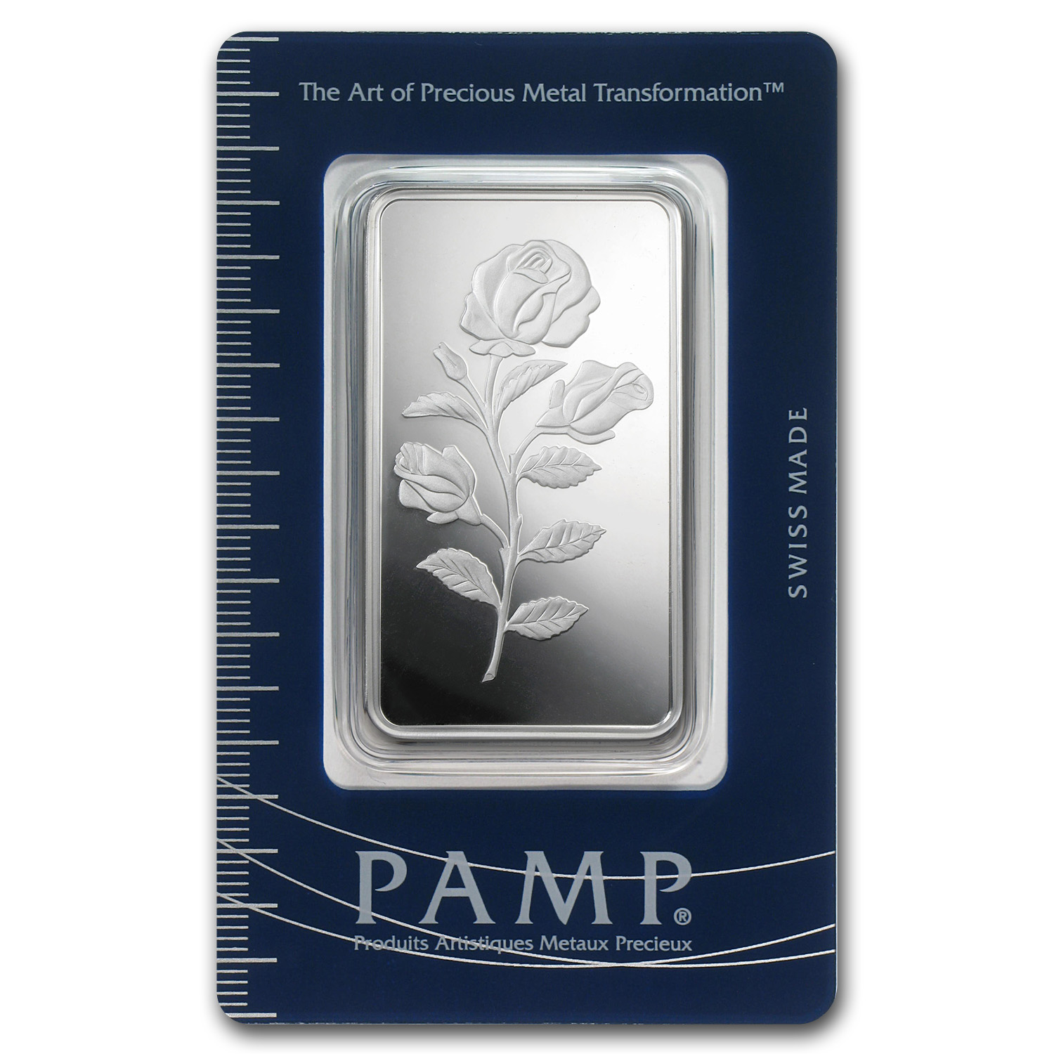 50 gram Silver Bar - PAMP Suisse (Rosa, In Assay)