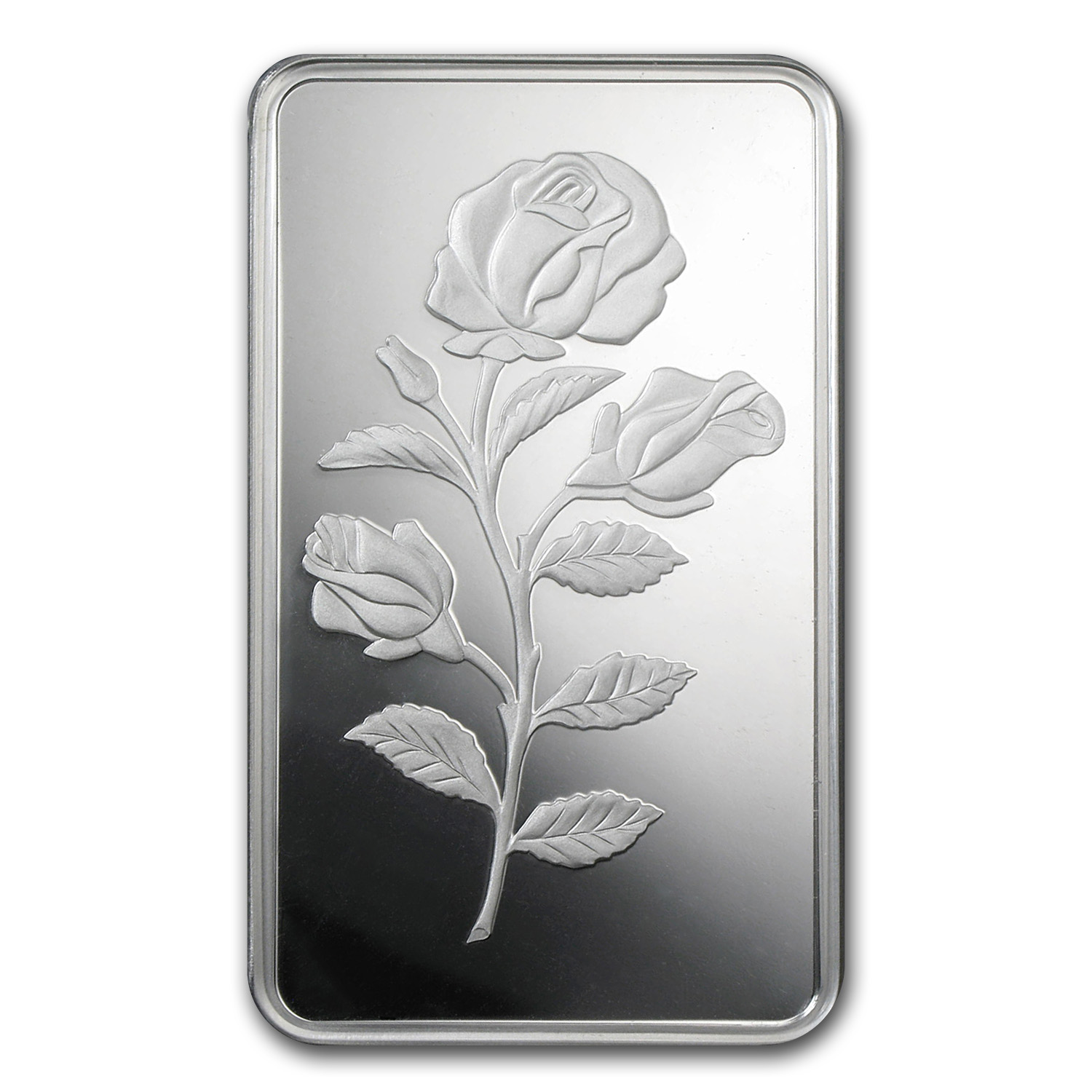 100 gram Silver Bar - PAMP Suisse (Rosa, In Assay)