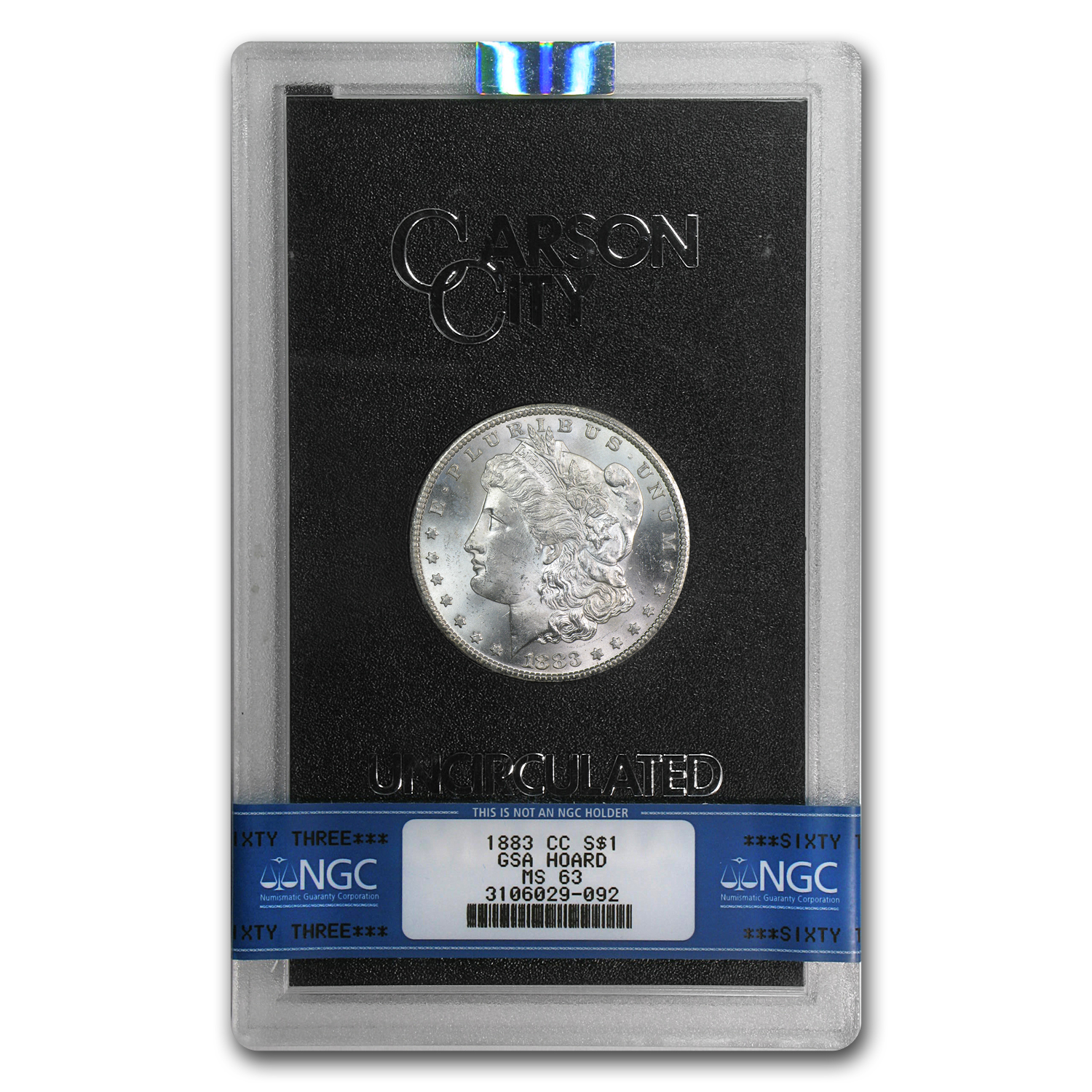 1882-1884-CC Morgan Dollar MS-63 NGC (GSA)