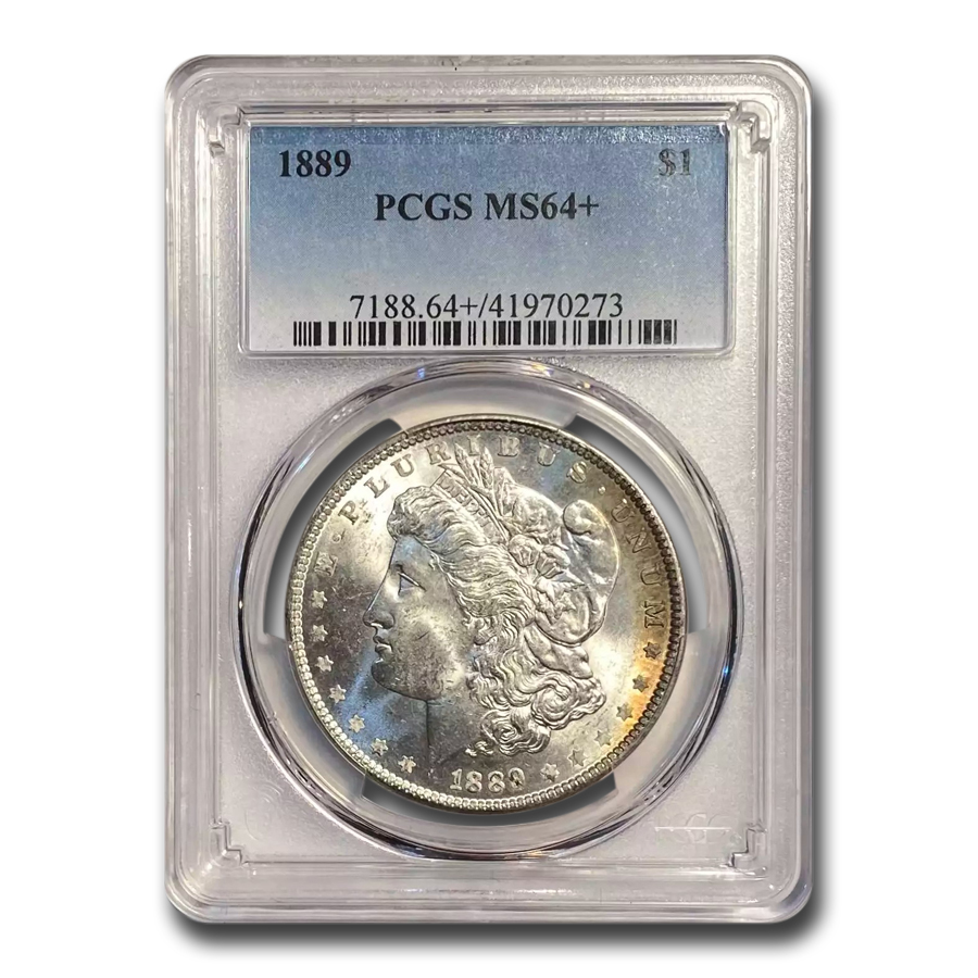 1889 Morgan Dollar MS-64+ Plus PCGS