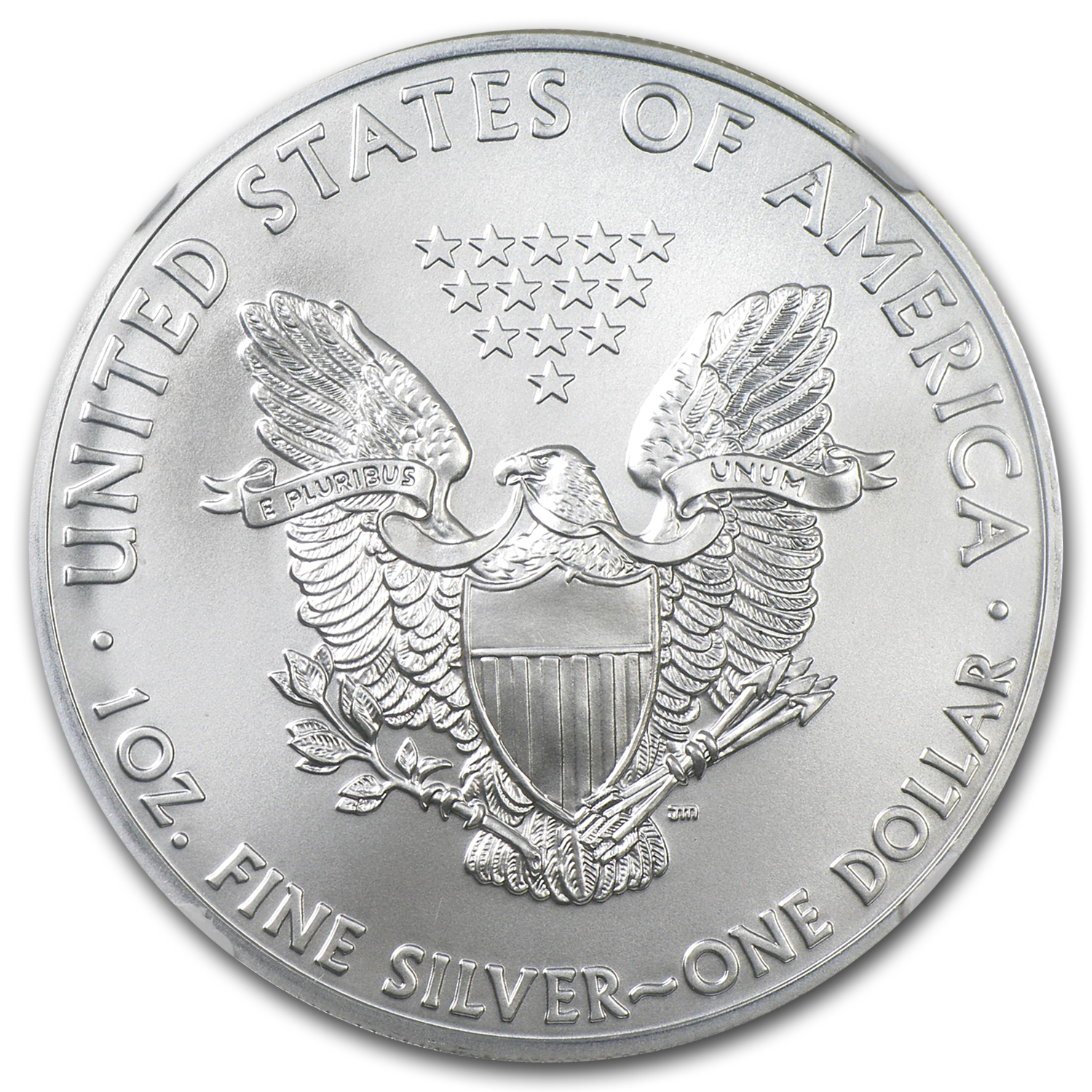 2011 (S) Silver Eagle MS-70 NGC (San Francisco Label)