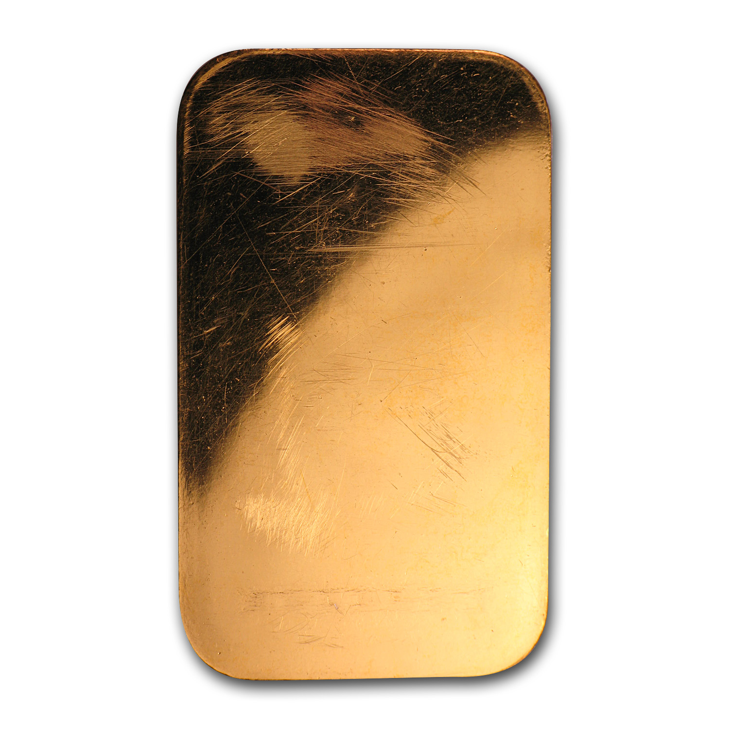 1/2 oz Gold Bars - Johnson Matthey (Plain Back)