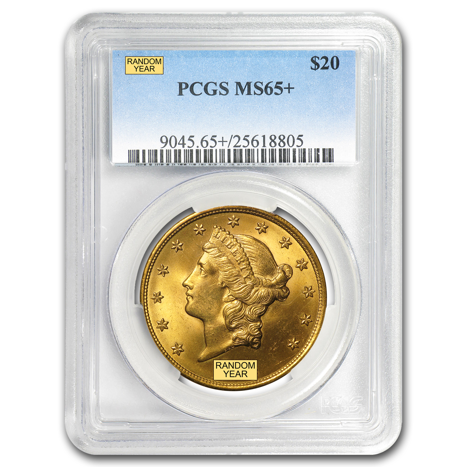 $20 Liberty Gold Double Eagle MS-65+ PCGS